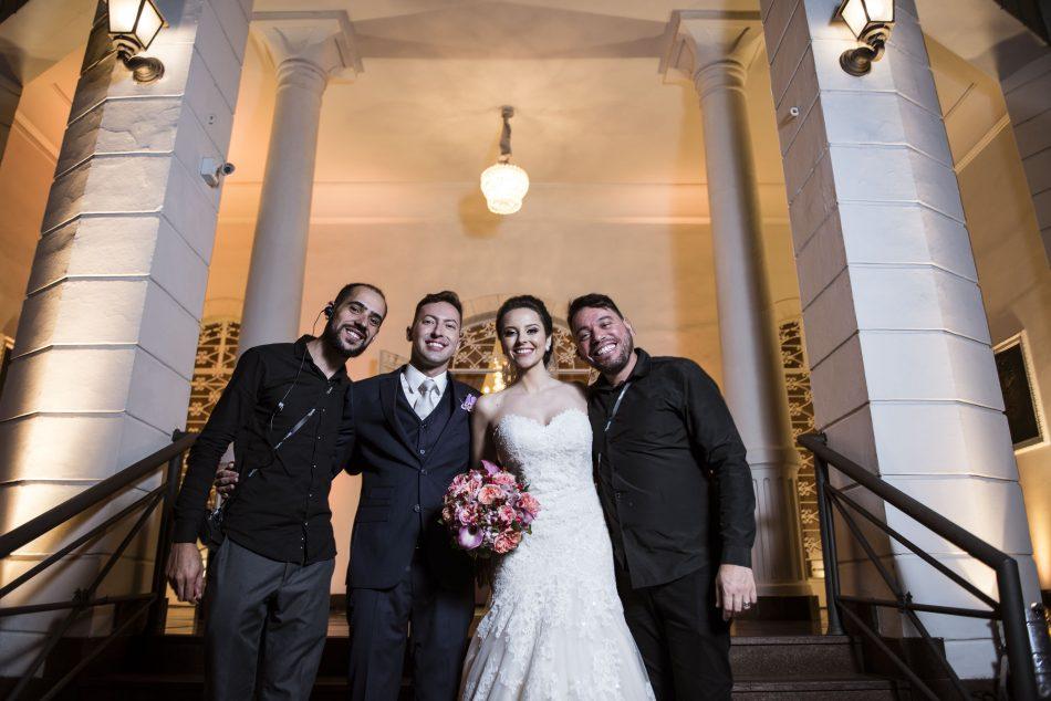 equipe personal de casamento