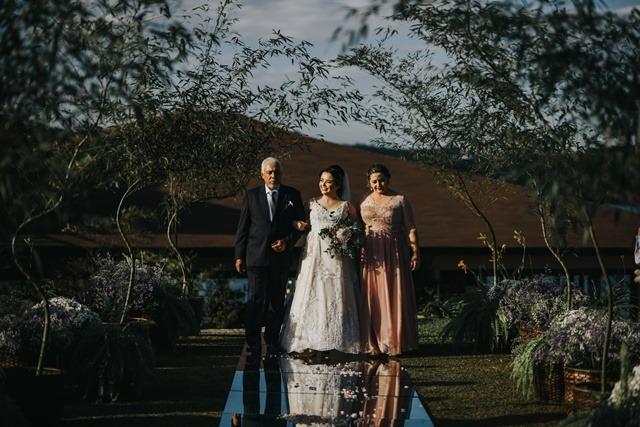 convidados dos pais no casamento
