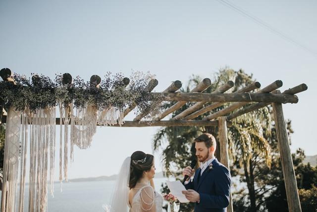 decoração de casamento boho-chic