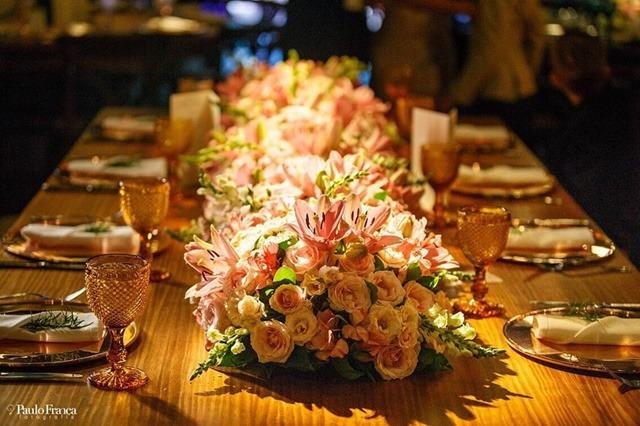 decoração romântica casamento