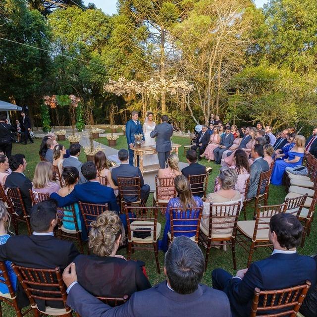 cerimonia caracol casamento ao ar livre