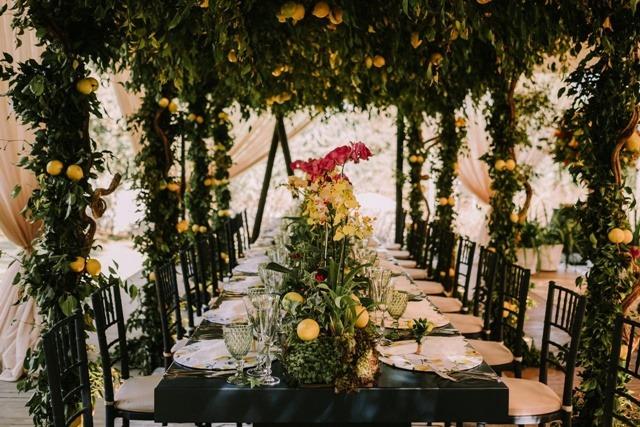 decoração garden