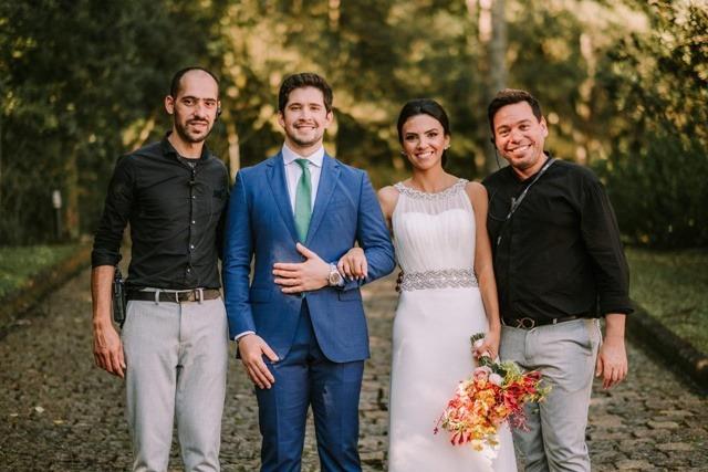micro wedding personal de casamento