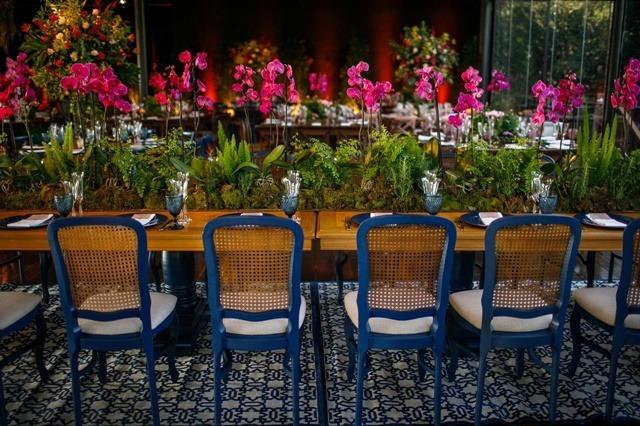 decoracao garden  para casamento