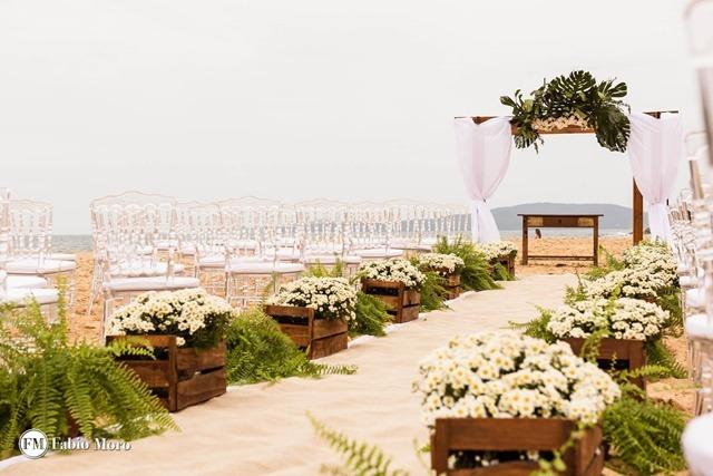 tendencias de casamento 2022 casamento na praia